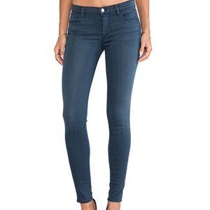 J Brand Super Skinny Jeans in Heaven Blue Pants